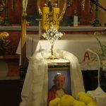 Nawiedzenie relikwii Św. Jana Pawła II